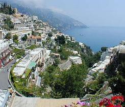 The canyon of Positano